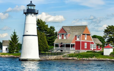 Rock Island Lighthouse Jigsaw Puzzle