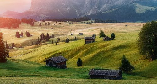 Rolling Hills Jigsaw Puzzle