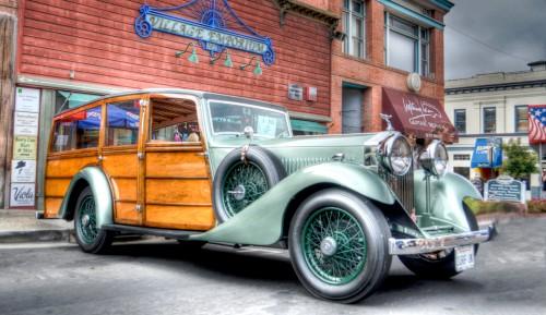 Rolls Royce Woodie Jigsaw Puzzle