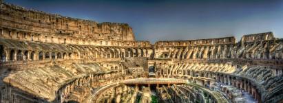 Roman Coliseum Interior