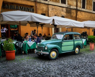 Rome Cafe Jigsaw Puzzle