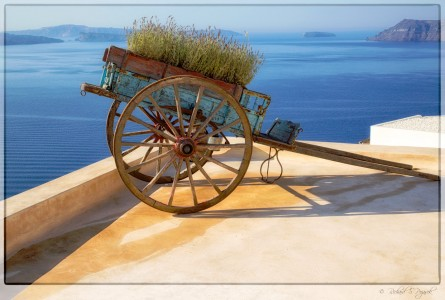 Rooftop Cart Jigsaw Puzzle