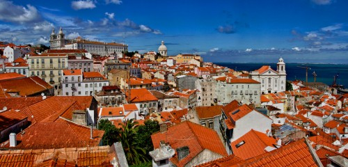 Rooftops of Lisbon Jigsaw Puzzle