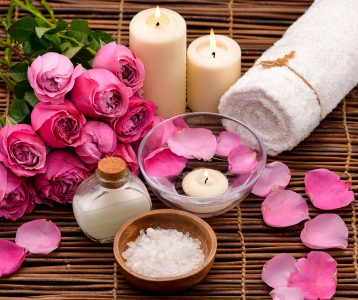 Roses and Candles Jigsaw Puzzle