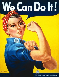 """""""Rosie the Riveter"""" Jigsaw Puzzle"""