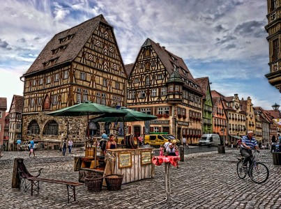 Rothenburg Jigsaw Puzzle