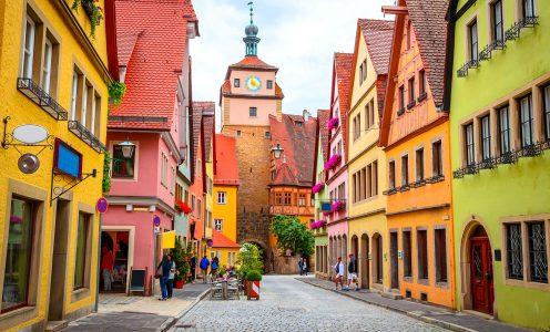 Rothenburg Colors Jigsaw Puzzle