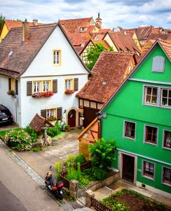 Rothenburg Homes Jigsaw Puzzle