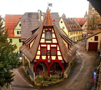 Rothenburg House Jigsaw Puzzle