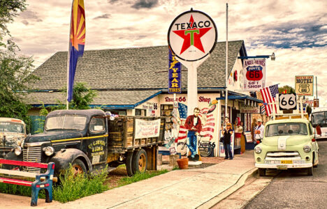 Route 66 Gift Shop Jigsaw Puzzle