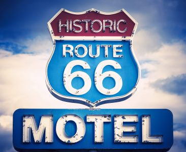 Route 66 Motel Jigsaw Puzzle