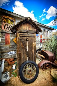 Route 66 Outhouse Jigsaw Puzzle
