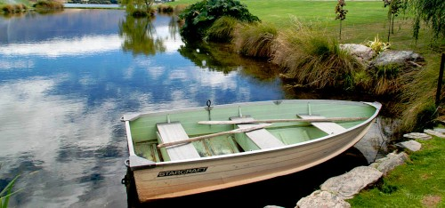 Row Boat Jigsaw Puzzle