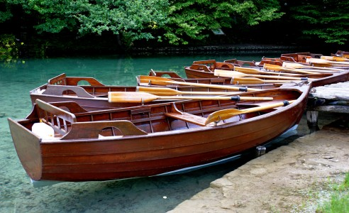 Row Boats Jigsaw Puzzle