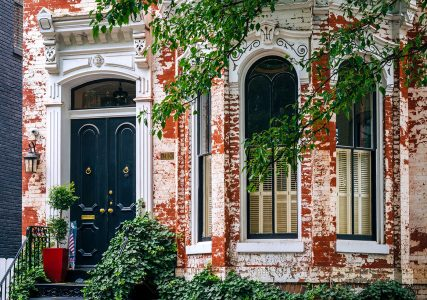 Row House Jigsaw Puzzle