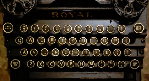 Royal Typewriter Jigsaw Puzzle