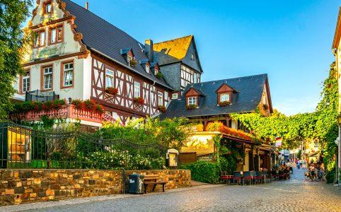 Rudesheim am Rhein Jigsaw Puzzle