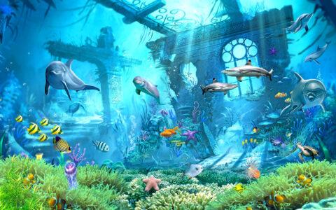 Ruins of Atlantis Jigsaw Puzzle