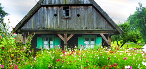 Rural Cabin Jigsaw Puzzle