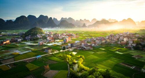 Rural China Jigsaw Puzzle