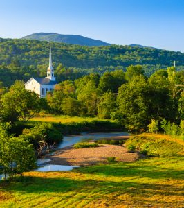 Rural Church Jigsaw Puzzle