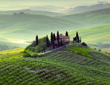 Rural Tuscany Jigsaw Puzzle