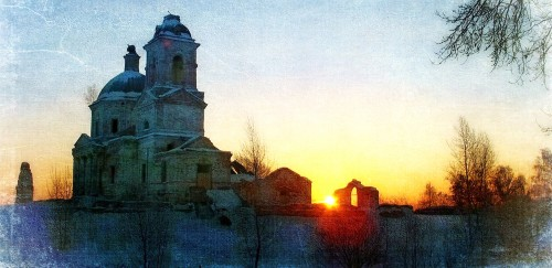 Russian Church Jigsaw Puzzle