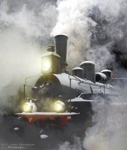 Russian Locomotive Jigsaw Puzzle