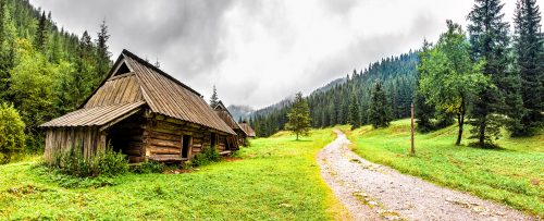 Rustic Cabins Jigsaw Puzzle