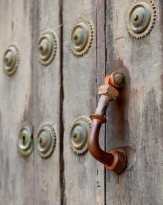 Rustic Door Knocker Jigsaw Puzzle