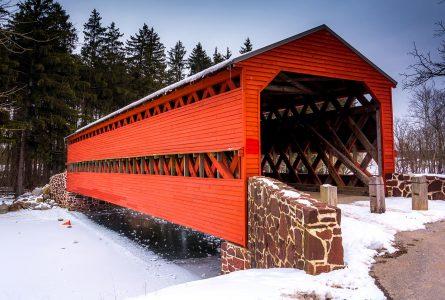 Sachs Bridge Jigsaw Puzzle