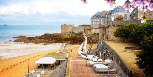 Saint-Malo Beach Jigsaw Puzzle