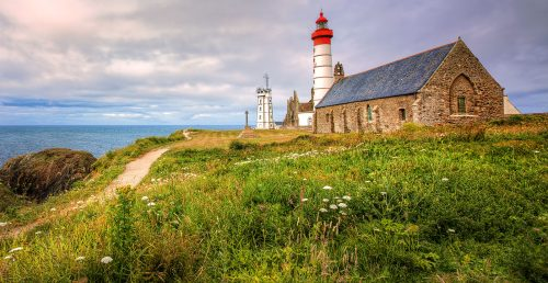Saint-Mathieu Lighthouse Jigsaw Puzzle