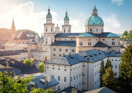 Salzburg Cathedral Jigsaw Puzzle