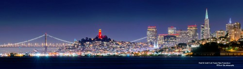 San Francisco at Night Jigsaw Puzzle