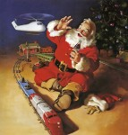 Santa Claus Playing