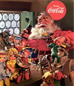 Santa Claus' Toy Shop Jigsaw Puzzle