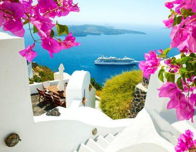Santorini Cruise Jigsaw Puzzle