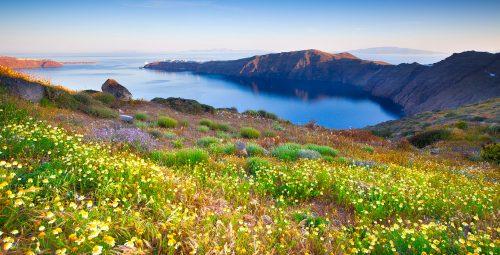 Santorini Inlet Jigsaw Puzzle