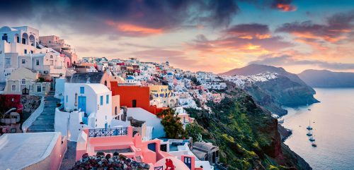 Santorini Morning Jigsaw Puzzle