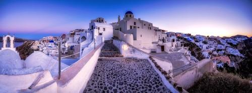 Santorini Path Jigsaw Puzzle