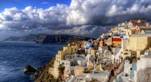 Santorini View Jigsaw Puzzle