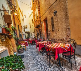 Sardinia Cafe Jigsaw Puzzle