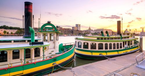 Savannah Riverboats Jigsaw Puzzle