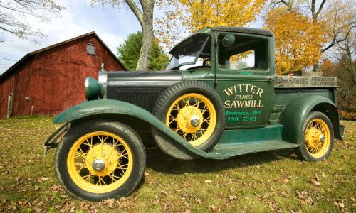 Sawmill Truck Jigsaw Puzzle