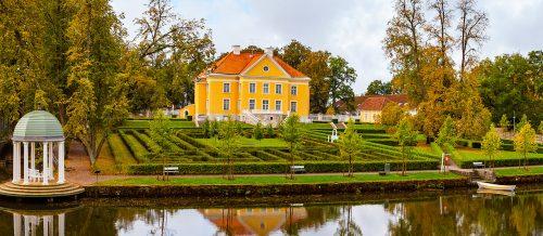 Scandinavian Manor Jigsaw Puzzle