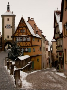 Scenic German Town Jigsaw Puzzle