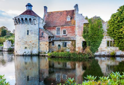 Scotney Old Castle Jigsaw Puzzle