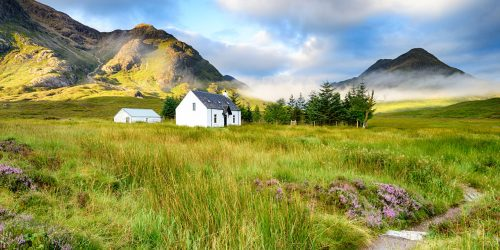 Scottish Cottage Jigsaw Puzzle