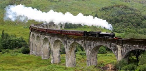 Scottish Train Jigsaw Puzzle